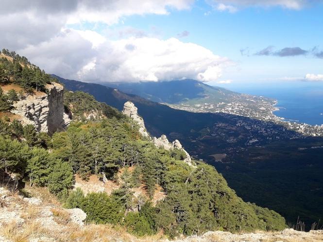 горный Крым фото скал Таракташ