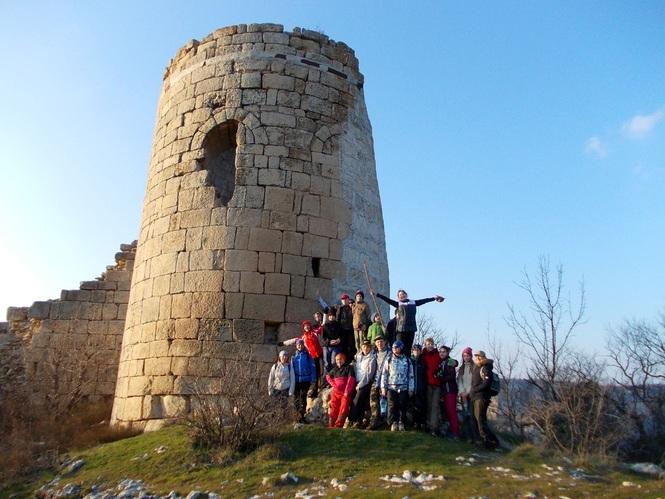 горный Крым фото Сюйреньской крепости